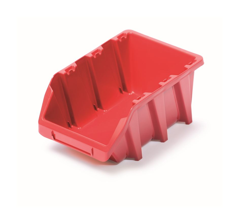PROSPERPLAST Plastový úložný box BINEER LONG 249x158x114 červený