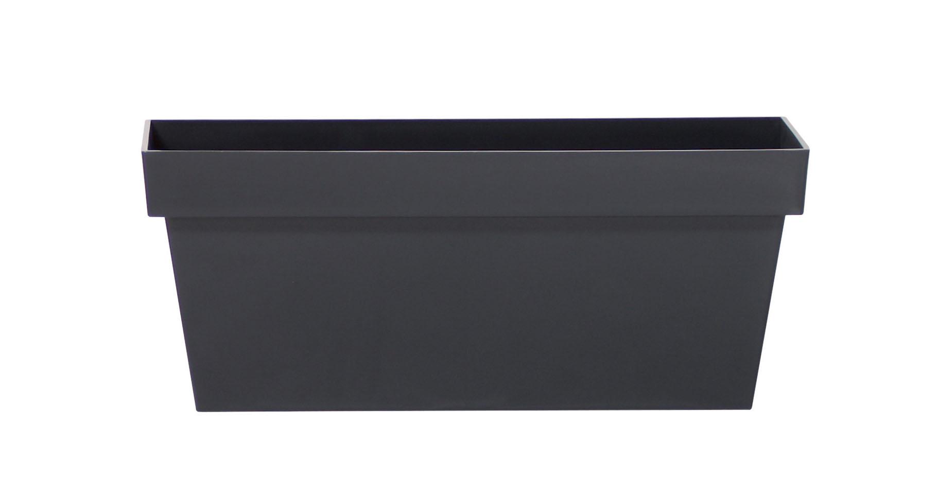 PROSPERPLAST Truhlík CUBE CASE antracit 39,2cm