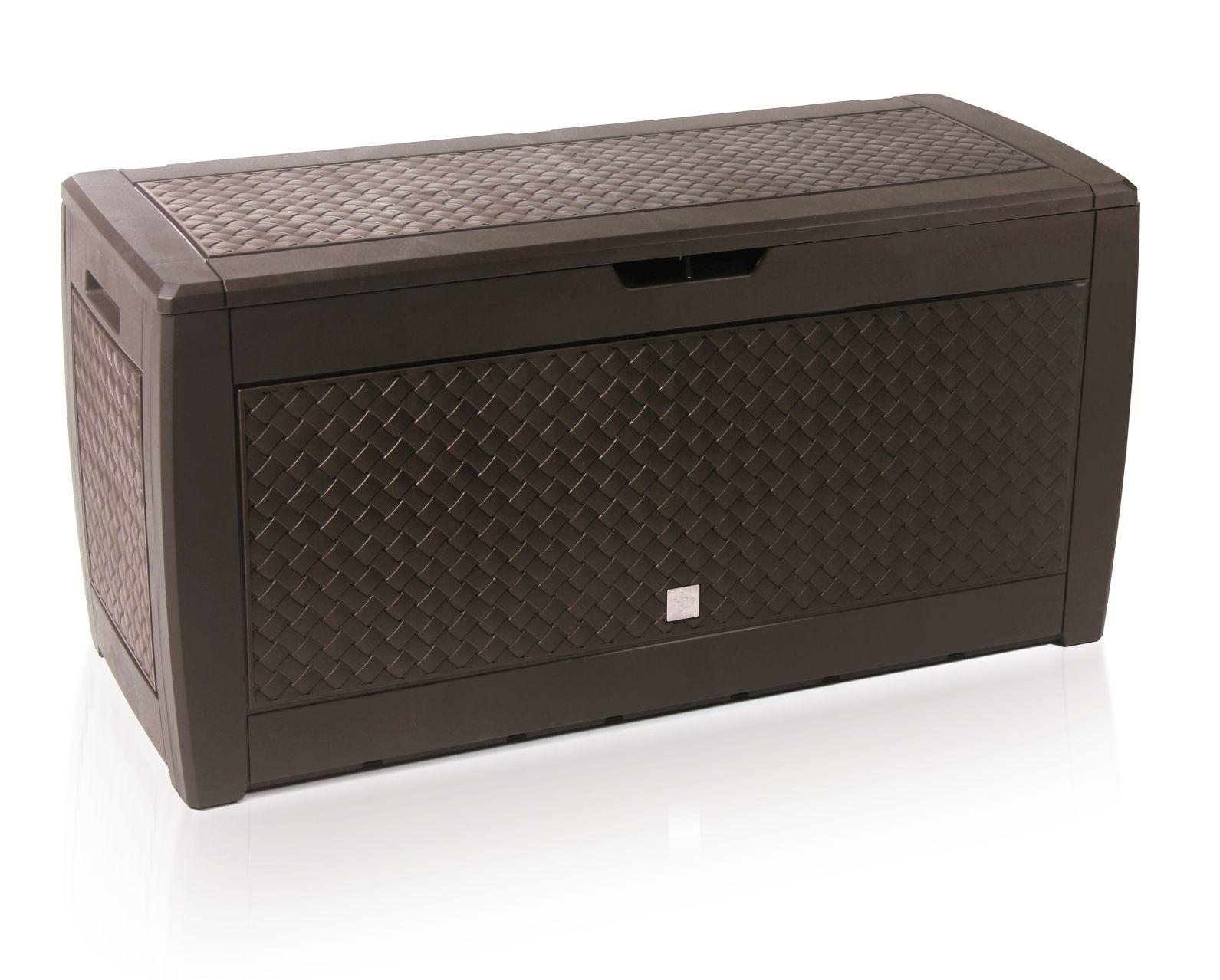 PROSPERPLAST Zahradní box BOXE MATUBA umbra 119cm - 310L