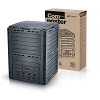 Kompostér COMPOGREEN WOODY černý 280l