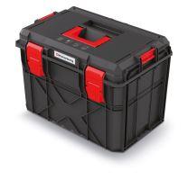 Kufr na nářadí X BLOCK PRO černý 546x380x407