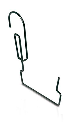 PROSPERPLAST Držák na truhlíky AGROHANG kovový černý 23cm