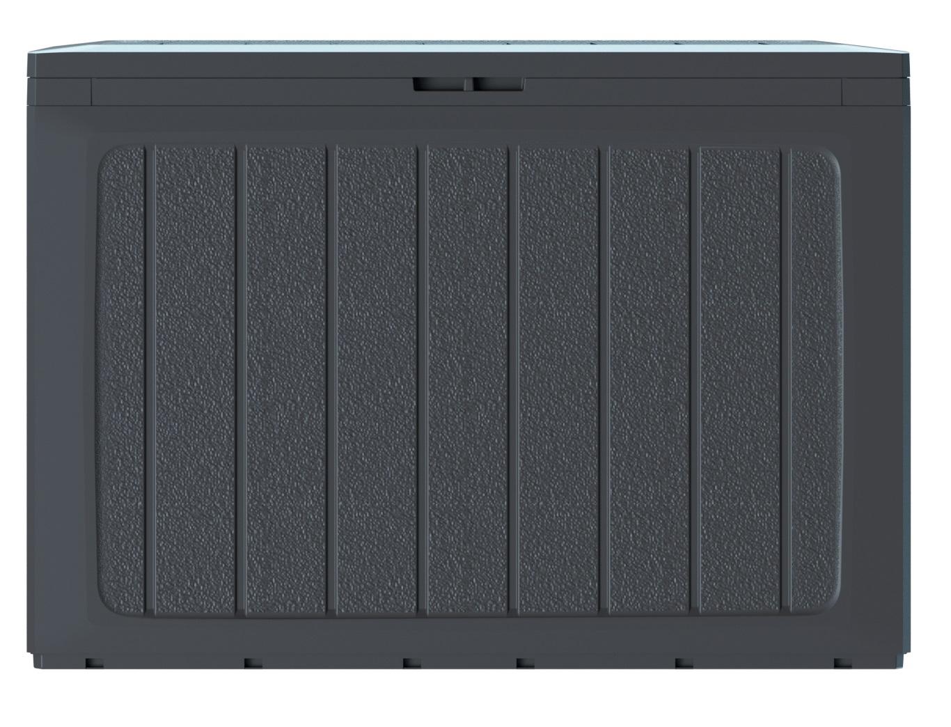 PROSPERPLAST Zahradní box BOARDEBOX antracit 78 cm - 190L
