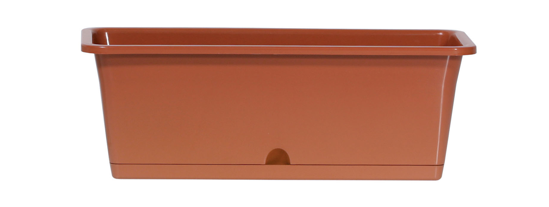 PROSPERPLAST Truhlík CAMELIA terakota 59,5cm