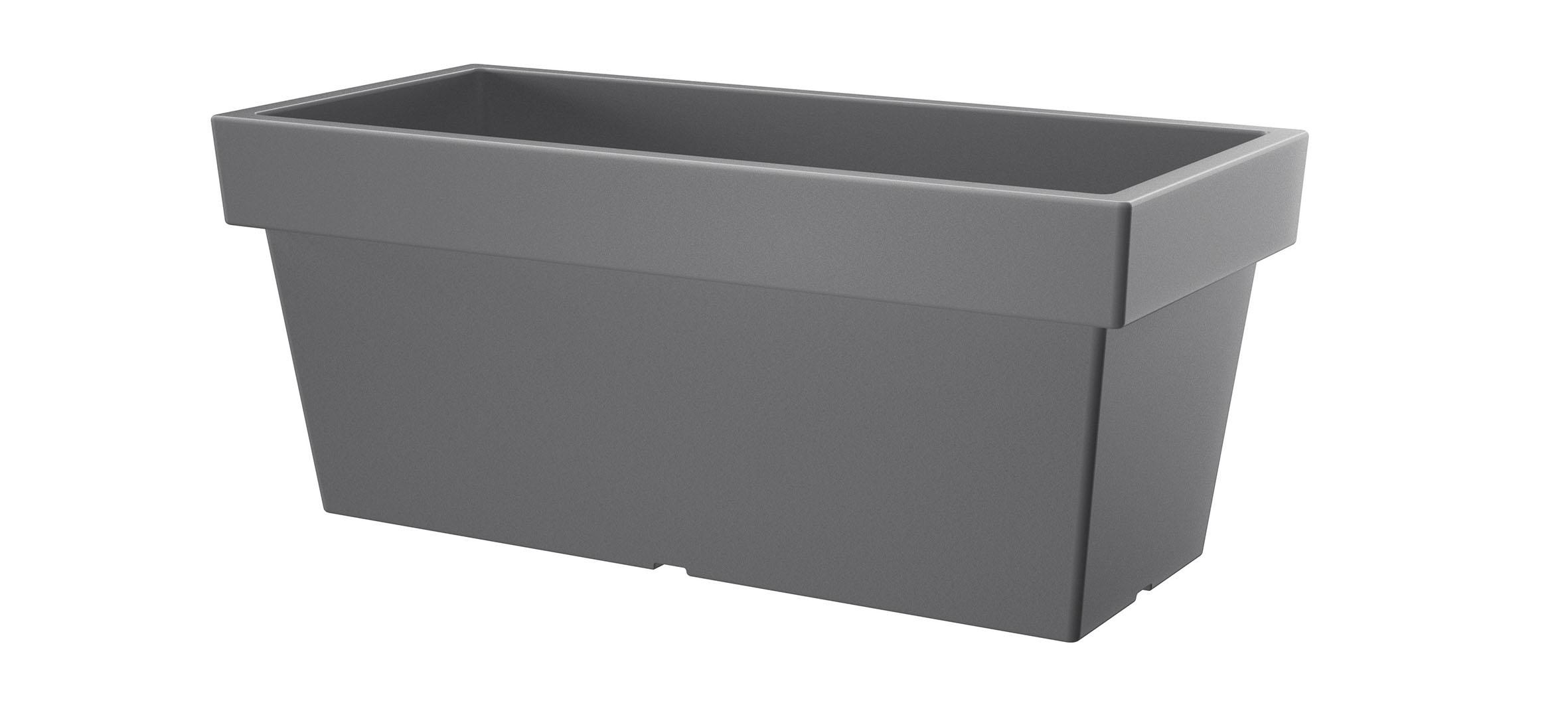 PROSPERPLAST Truhlík LOFLY CASE šedý kámen 37,8cm