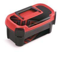 Plastový kufr na nářadí LINE IML motiv karbonu 328x178x160