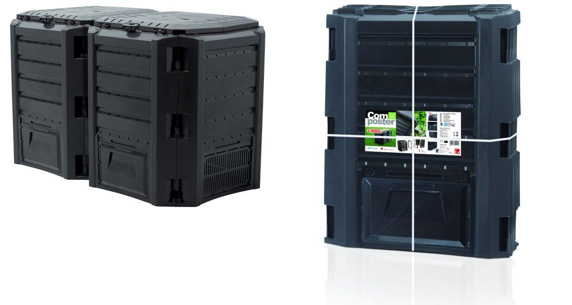 PROSPERPLAST Kompostér MODULE COMPOGREEN černý 800l bez balení