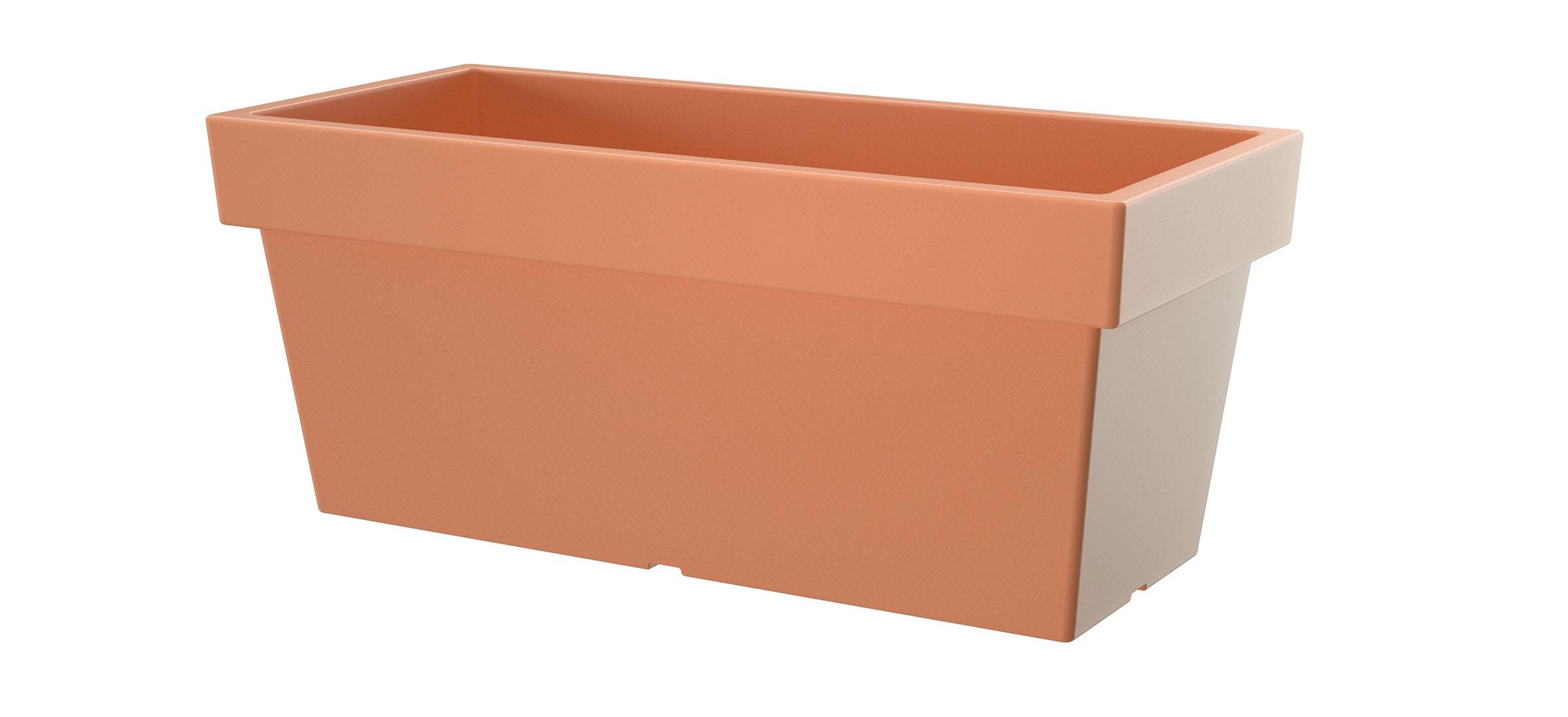 PROSPERPLAST Truhlík LOFLY CASE terakota 57,8cm
