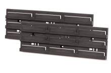 Montážní panel BINEER BOARD 386x18x130 černý, 2 ks