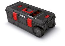 Kufr na nářadí s transp. kolečky X BLOCK TECH černý 795x380x307