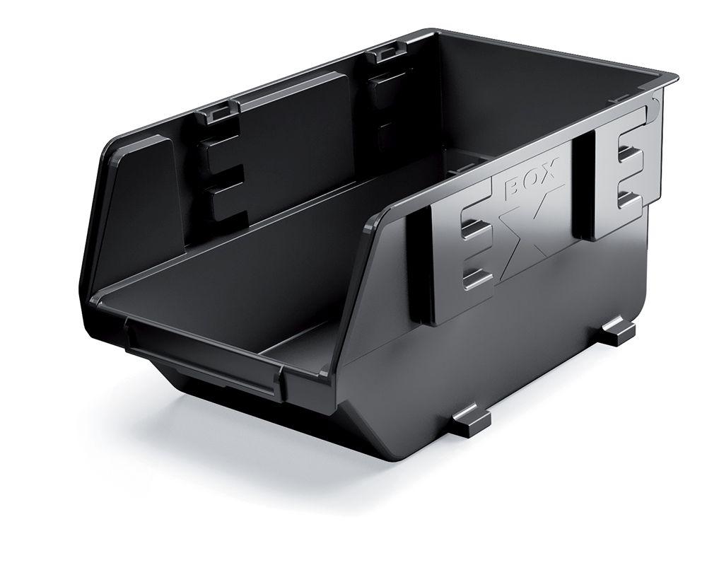 PROSPERPLAST Plastový úložný box EXE 237x159x118 černý