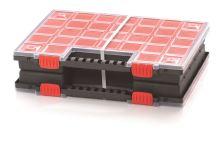 Plastový organizér NORB DUO (2x KNO40305B) 399x303x100
