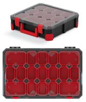 Organizér TITAN - 17 krabiček, průhledné víko 598x390x110