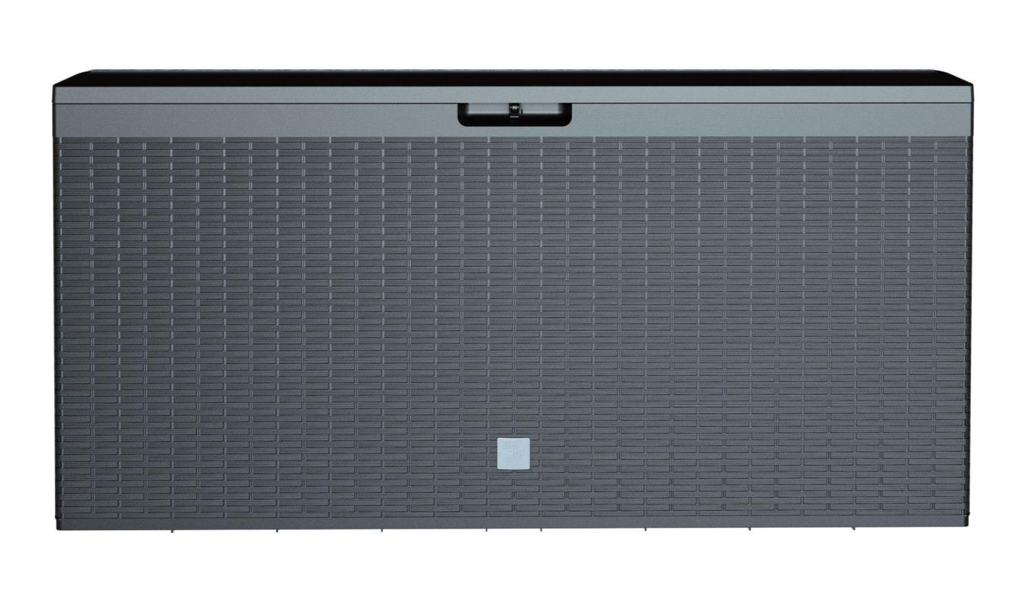 PROSPERPLAST Zahradní box BOXE RATO PLUS antracit 114cm - 290L