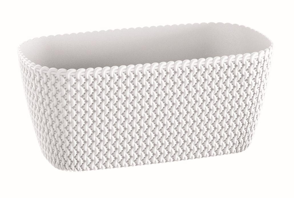 PROSPERPLAST Truhlík SPLOFY CASE bílý 29,7cm