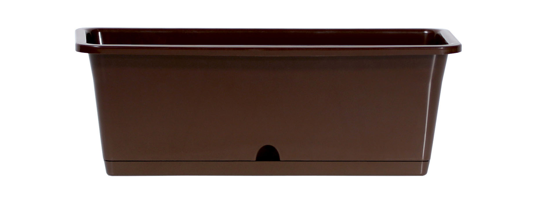PROSPERPLAST Truhlík CAMELIA tm.hnědý 40,2cm