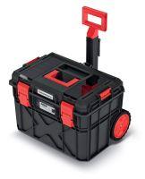 Kufr na nářadí s transp. kolečky X BLOCK LOG černý 546x380x400