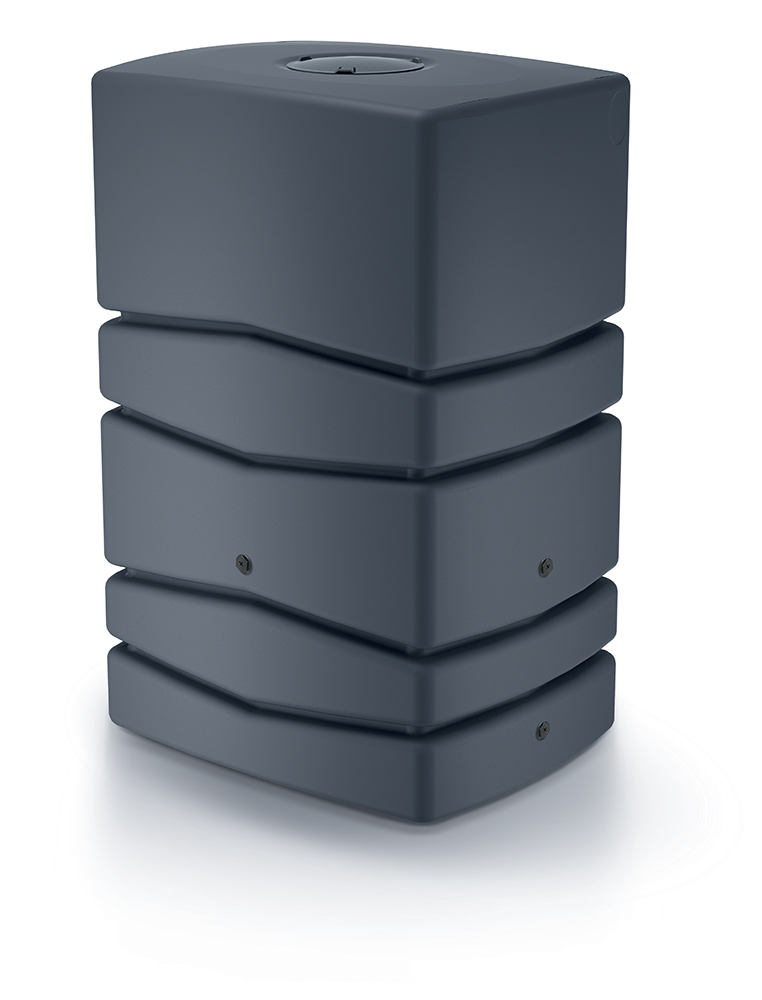 PROSPERPLAST Sud na dešťovou vodu AQUA TOWER antracit 450l