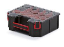 Organizér vysoký TAGER CARBO PLUS s polykarbonát. víkem (přepážky/krabičky)
